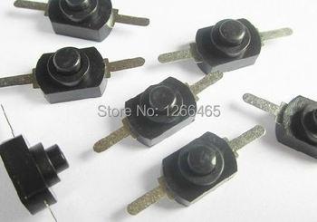 self-locking Small push button switch 10mm flashlight switch