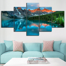 5 Piece HD Print Painting Modern Decor Picture Poster Landscape Artwork Wall Art Canvas Living Room
