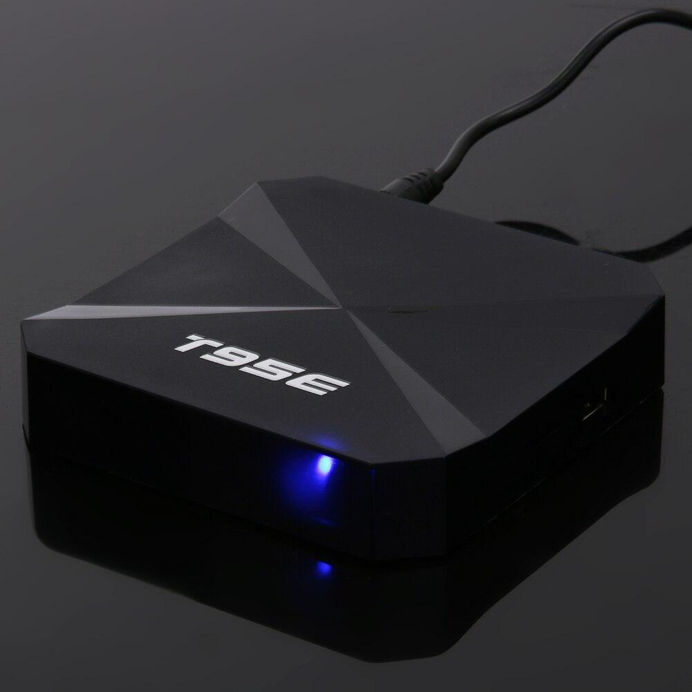 1 ГБ/8 ГБ t95e Беспроводной HD ТВ Box Android 5.1 4 ядра rk3229 2.4 ГГц Wi-Fi Эндрюс Smart Media плеер с Дистанционное управление