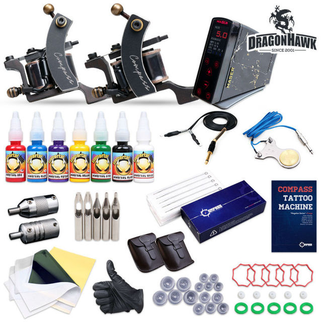 Compass Tattoo Kit Magellan Machine Inks Power Supplies Compass-005