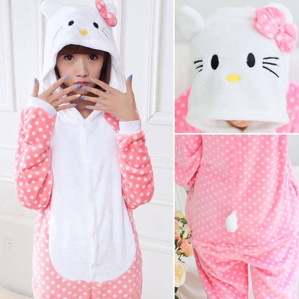 Winter Pajama Sets Women Sleepwear Unicorn Panda Stitch Onesies For Adults Animal Pajamas Cartoon Cosplay Unisex Homewear