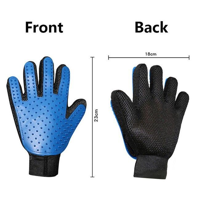 Pet Grooming De-shedding Glove  5