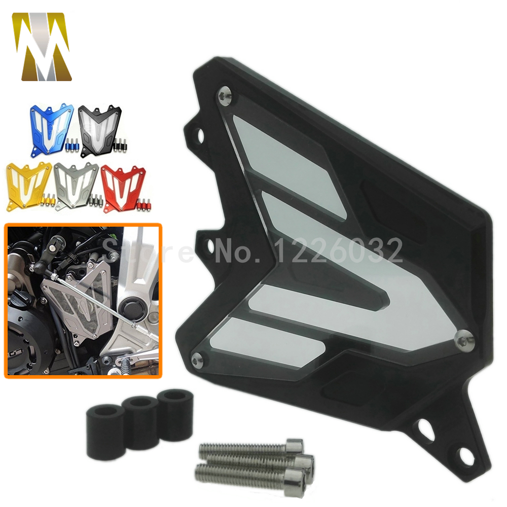 Motorcycle Chain Cover For Yamaha MT-07 2013-2016 FZ-07 2015-2016 CNC Aluminum PC Lens Front Sprocket Guard Chain Cover цена 2016