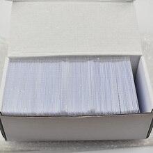 200 шт./лот nfc 1k S50 пустая карта тонкая ПВХ Карта RFID 13,56 МГц ISO14443A IC смарт-карточка fudan чипы водонепроницаемые