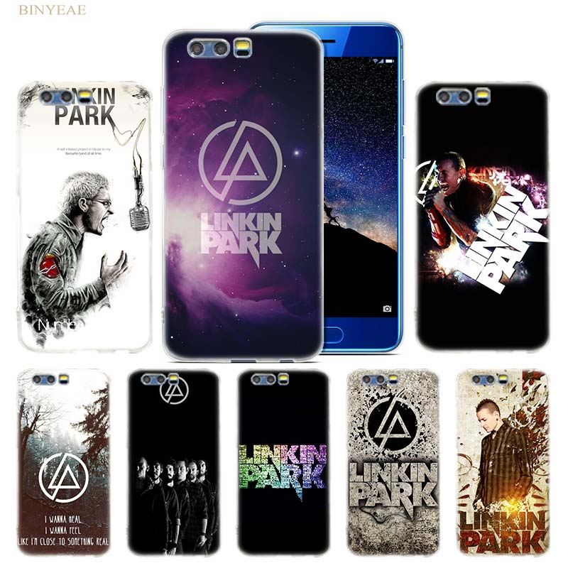 20d7c24bc04 Linkin Park funda para Huawei Honor 8 9 10 lite 7X 6A 6X 6C Pro transparente  de silicona suave TPU Fundas funda para teléfono móvil Capa