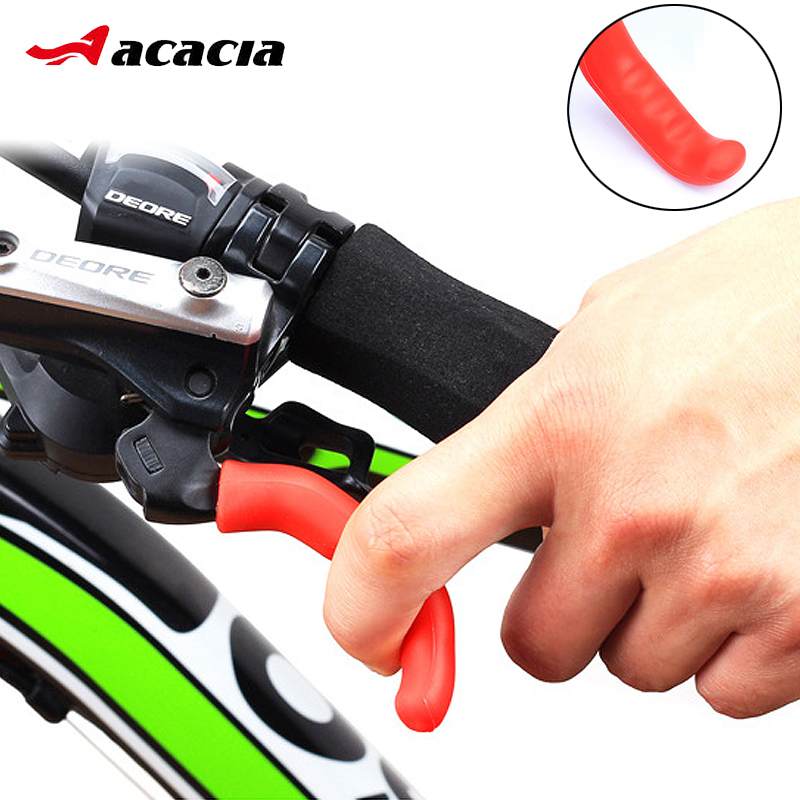 Mountain Bike Brake Levers soft Silicone Cover Bicycle Handlebar Grip Protector