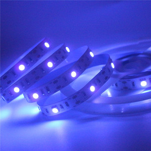 Image 4 - 0.5 2m 5050 SMD Chip UV Led Strip Light 30leds/m Not waterproof Ultraviolet 395 410nm DC 5V USB Led rope Tape Lamp Cabinet Lamp