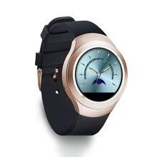 Heißer verkauf! Smart Uhr Charming L6 sim-karte IPS Runden Bildschirm Edelstahl Bluetooth Smartwatch Drücken Oder IOS Android Phone Hohe