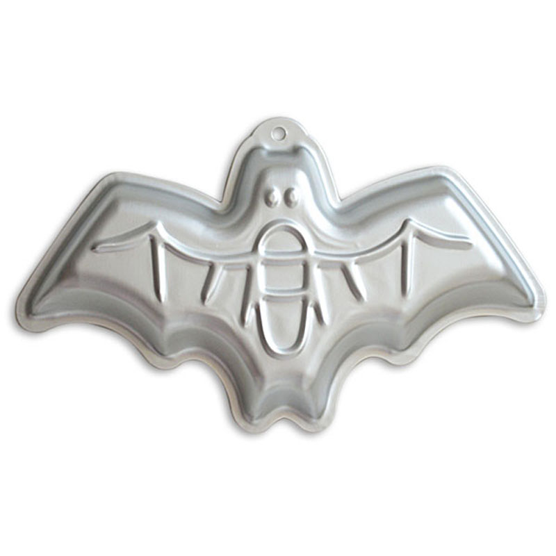 12 Inch Bat Shaped Aluminum 3D Cake Mold Baking Mould Tin Cake Pan for Halloween Party