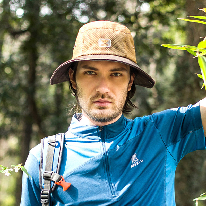 55b664f880694 2015 New Summer Fashion Camping Hiking Fishing Outdoor Bucket Hat Cap Mens  Hats Sun Casual Caps-in Bucket Hats from Apparel Accessories on  Aliexpress.com ...
