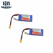 2 Pcs 11.1V 2700mah Li-po Battery for Cheerson Cx-20 Rc Quadcopter Drone Spare Parts Batteries Helicopters Extra Replacements