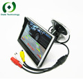 5 Pulgadas 800*480 HD monitor de Color LCD 12 V Monitor Del Coche Lechón con 2 Canales de Entrada de Vídeo Para VCD DVD Revertir visión Trasera cámara