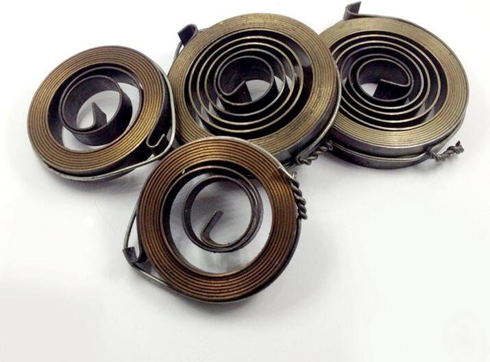 Плоские спиральные пружины