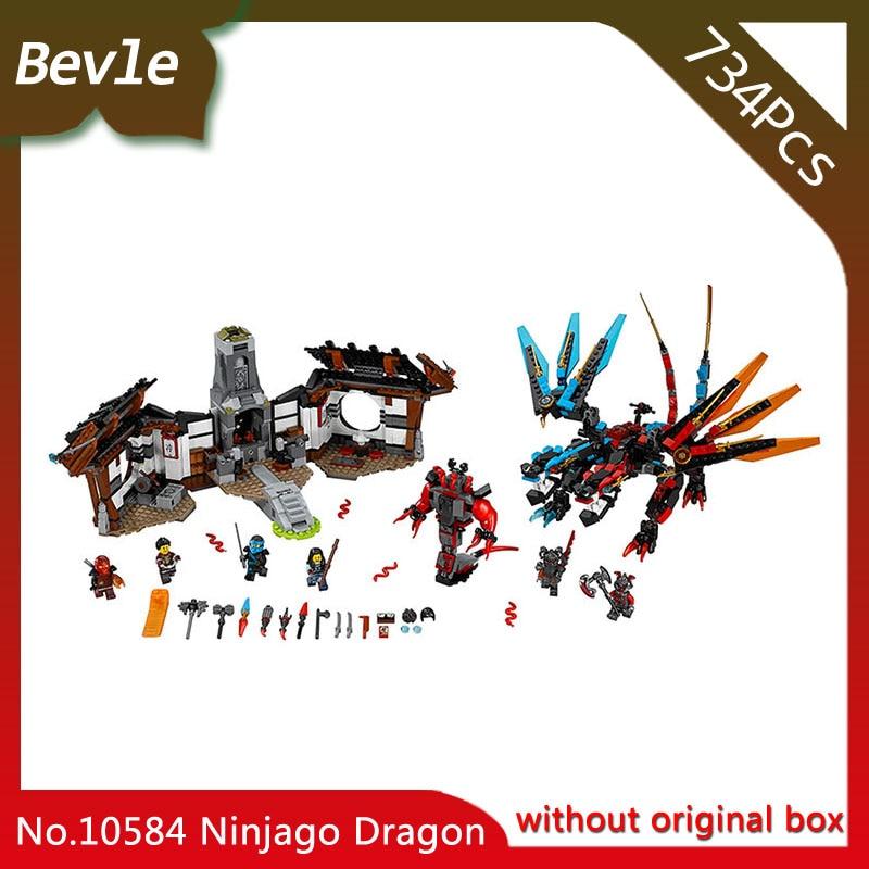 Doinbby Store Bela 10584 pcs Ninja Series Double element dragon secret base Model Building Blocks Bricks For Children Toys 70627 managing the store