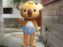 Koala Mascot Costume Adult Advertising Animal Inflatable Lovely  Free Shipping