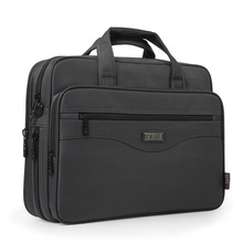 Business Briefcase Handbags Laptop-Bag Portfolios Oxford-Cloth Shoulder Man Bolsa Multi-Function