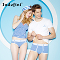2016 new lovers of male underwear men's shorts cotton men's underwear sexy men welcome