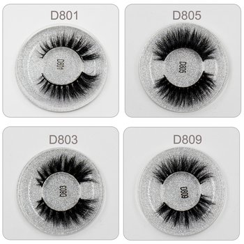 LEHUAMAO Mink Eyelashes 3D Mink Lashes Thick HandMade Full Strip Lashes Cruelty Free Mink Lashes 13 Style False Eyelashes Makeup 8
