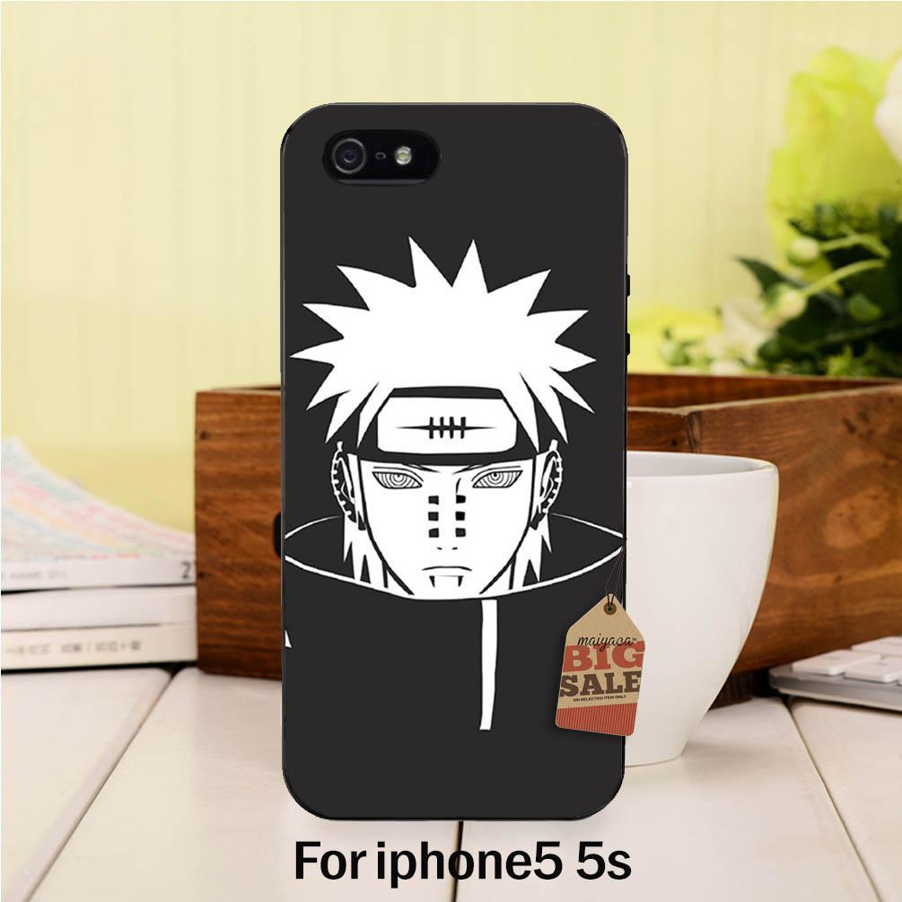 Diy pintado hermosa accesorios del teléfono para case 5S pein naruto shippuden a