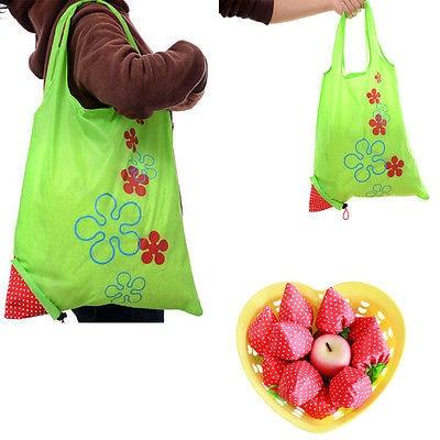 Sacola de compras bonito do curso do saco de compras da grande morango