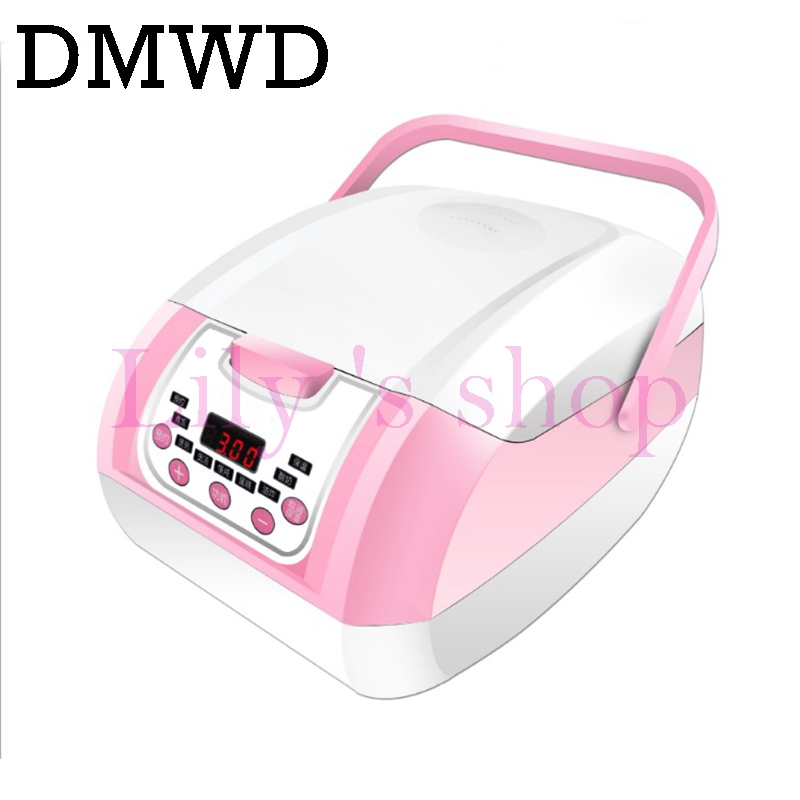DMWD Intelligent Electric Rice Cooker 3L Portable Microcomputer food Steamer Heating pressue cooker Microwave kitchen appliances smart mini electric rice cooker small household intelligent reheating rice cookers kitchen pot 3l for 1 2 3 4 people eu us plug