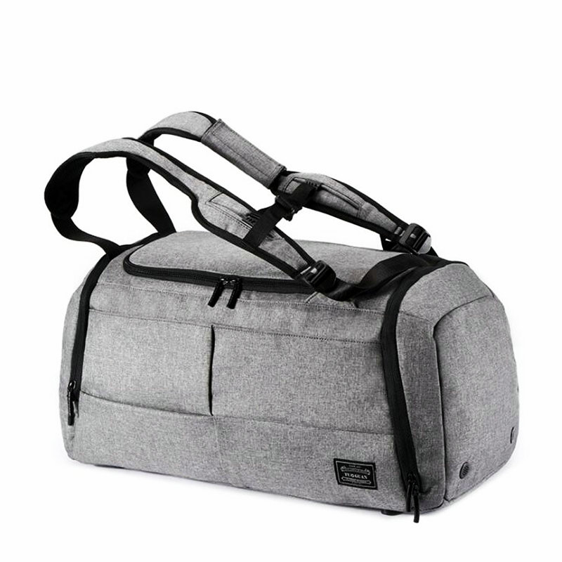 777847f24f 35L Men Multi function Gym Bag Black Gray Large Capacity Travel Bags Male Outdoor  Basketball Training Crossbody Shoulder Bags-in Gym Bags from Sports ...