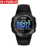 SYNOKE Digital Smart Watch Women Heart Rate Blood Pressure Watches Silicone Waterproof Womens Watch Smartwatch Womens Watches
