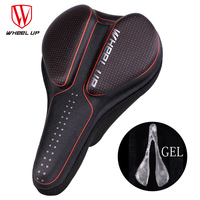 New Silicon Gel MTB Bicycle Saddle Cover Comfortable Cycling Bike Saddle Mat Soft Bike Pad Cushion almofadas cojines parts red