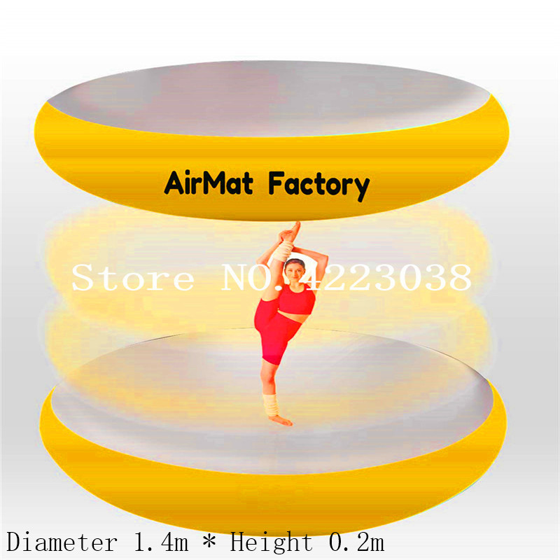 1.4m*0.2m Airspot Gymnastics Airtrack - Inflatable Air Track Tumbling Mat with Foot Air Pump for Gym, Tumble Track for Train1.4m*0.2m Airspot Gymnastics Airtrack - Inflatable Air Track Tumbling Mat with Foot Air Pump for Gym, Tumble Track for Train