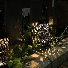 Solar LED Plastic Pathway Lights Waterproof Outdoor Path Light Wireless Waterproof Night Led Solar Lamp For Garden Lantern Deco