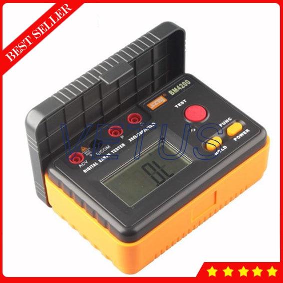 BM4200 Digital Ground Resistance Tester BM4200 Digital Ground Resistance Tester