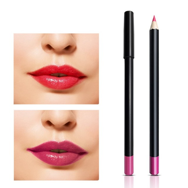 Hot Sale 10 Colors Women Beauty Makeups Lip Liner Pencil Long Lasting Waterproof Pen Eye Liner Lip sticks Cosmetics Makeup M2