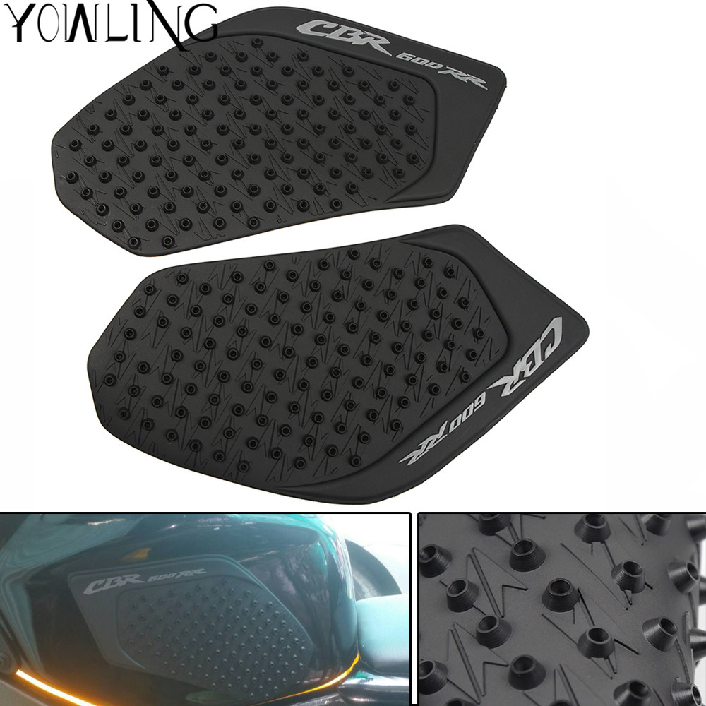 Useful For Honda Cbr600rr 2003 2004 2005 2006 Cbr 600rr Anti Slip Tank Pad Protector Stickers Side Gas Knee Grip Traction Pads 3m Automobiles & Motorcycles