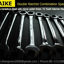 1pc  Ratchet Combination Metric Wrench Set Hand Tools for Nut Tool Torque and Gear Wrench and A Set of Key