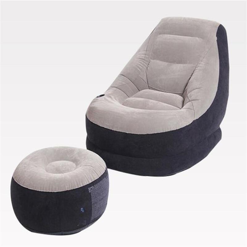 Inflatable Seat Sofa: Top Quality Inflatable Sofa One Seat Recreational Sofa