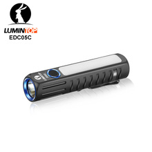 LUMINTOP EDC05C USB LED Flashlight Cree XHP35 H +Nichia NCSLE17 500lm Mini by 14500 Battery w/ Magnetic Tail Cap