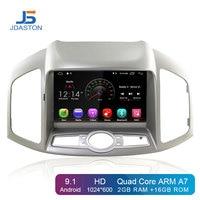 JDASTON Android 9.1 Car DVD Player For Chevrolet Captiva 2012 2015 WIFI SWC GPS Navigation 1 Din Car Radio Multimedia Stereo SD