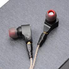 LZ A3S 2BA+1DD Hybrid 3 Unit In Ear Earphone HIFI Earphone Metal Earphone Headset Earbud With Detachable Detach MMCX Cable