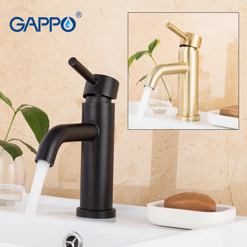GAPPO смесители для раковины водопад кран для раковины краны для раковины на бортике краны для горячей и холодной воды смеситель для ванной во...