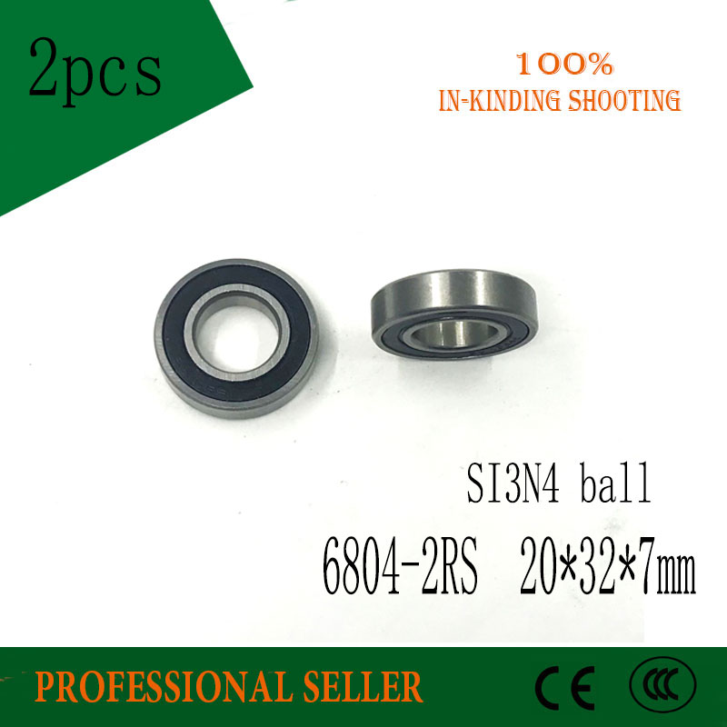 6804 Ceramic Bearing 20x32x7mm Ceramic Ball Bearing