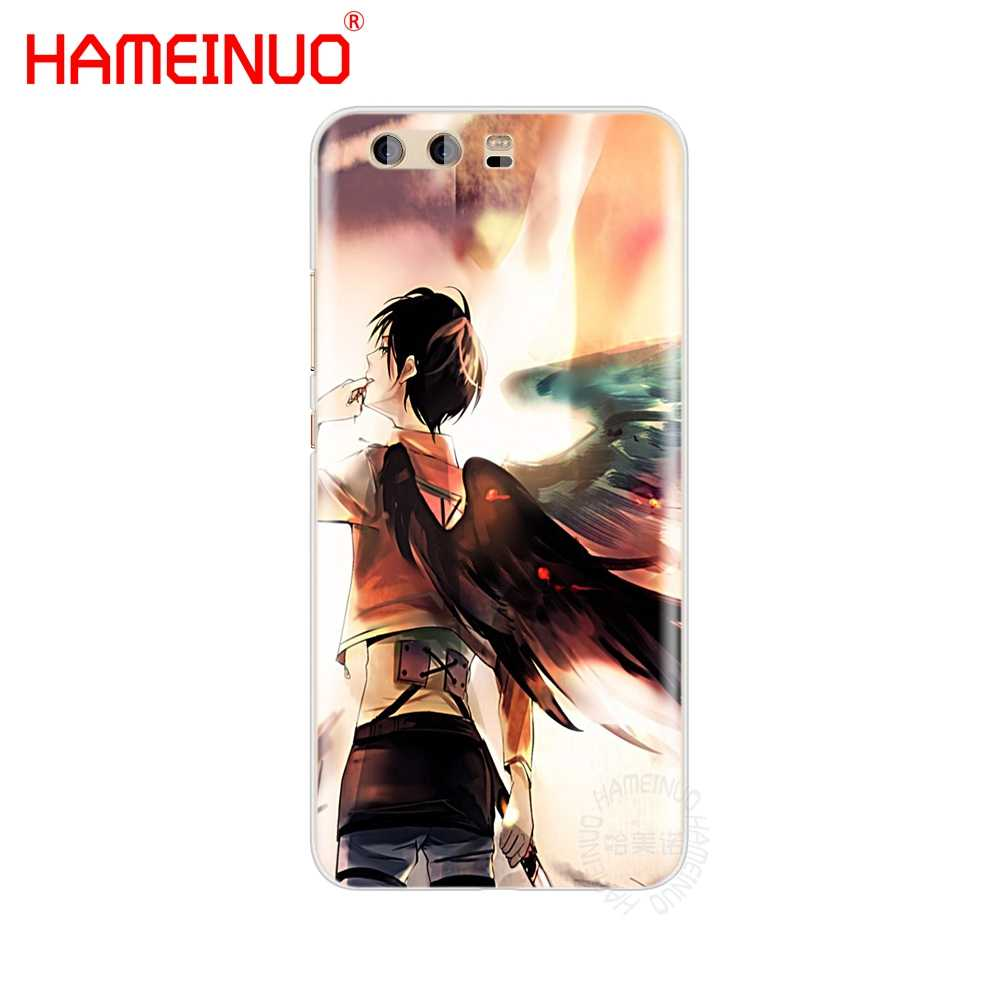 HAMEINUO Anime Japon Titan Kapak telefon kılıfı için huawei Ascend P7 P8 P9 P10 P20 lite artı pro G9 g8 G7 2017