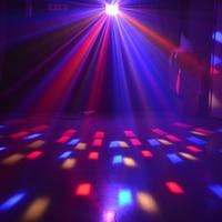 Stage Lights Effects Led Stagse Lamps Laser Light DMX 14 Modes Disco Lights DJ Bar Lamp Sound Control Music Stage Lights Effects