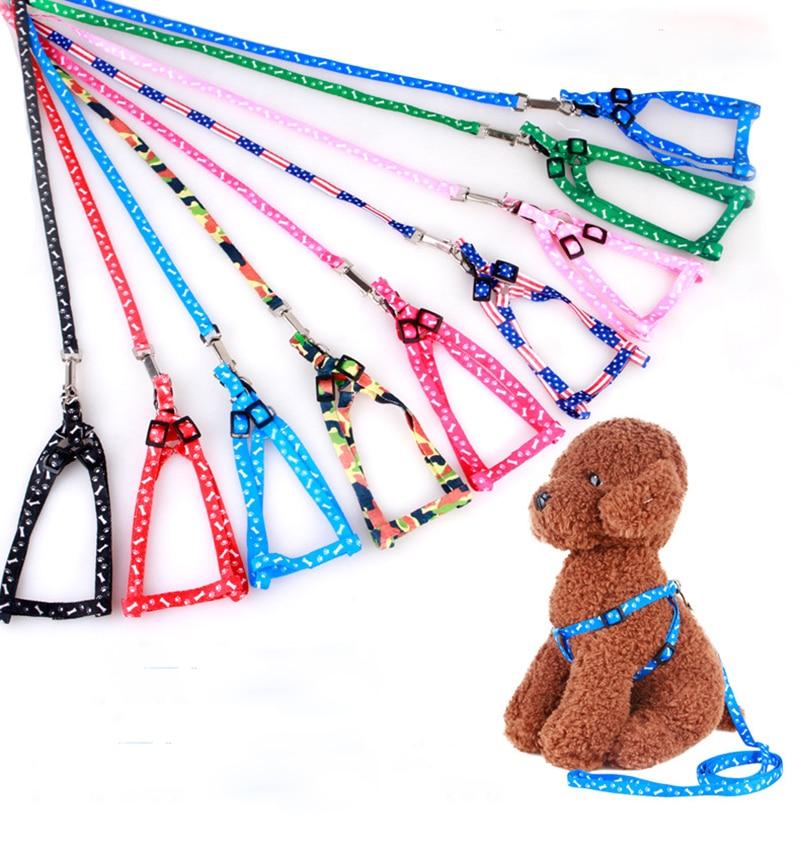 100 stks/partij Nylon Hondenriemen Pet Puppy Training Bandjes voor Kleine Honden Kat Nylon Nylon Hondenriemen Pet Puppy Training bandjes-in Kragen van Huis & Tuin op  Groep 1
