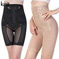 Hots moda sexy empalmar-elevación seamless body shaping posparto pantalones abdomen de la cintura dibujo bragas abdomen femenino dibujo