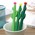 24 Pcs Kreative Kaktus Neutral Stift Pflanze Schwarz Unterschrift Büro Stift Student Schreibwaren Kawaii School Supplies Niedlich Stationären