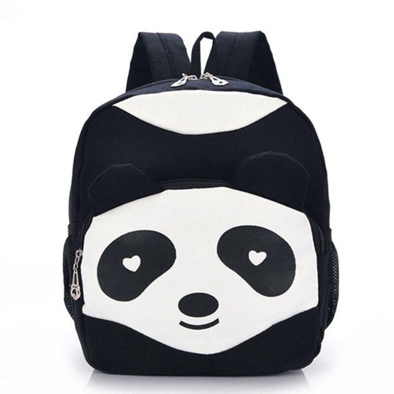 4040a55ff62a3 3 Kolor Moda Słodkie Fanny Pakiet Dziecko Cartoon Dzieci Plecak Panda Śmieszne  Plecaki Plecaki Mochila Infantil Dzieciak Torba