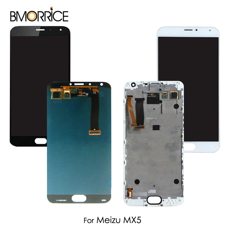 For MX 5 For Meilan <font><b>MX5</b></font> <font><b>LCD</b></font> <font><b>Display</b></font> <font><b>Touch</b></font> <font><b>Screen</b></font> Digitizer Assembly Replacement Parts Original No Frame 5.5'' image