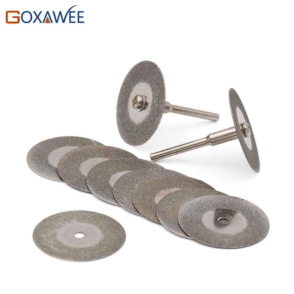Mini Dremel Drill Rotary Tool 16/20/25/30mm Diamond Cutting Disc Circular Saw Abrasive Sawblade Cutting Wheel Discs