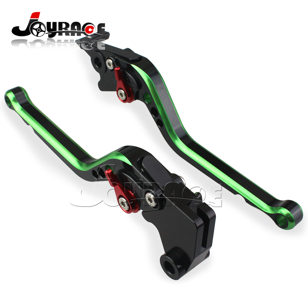 New Style Adjustable CNC Clutch Brake Levers For Kawasaki Z750 Z800 Moto Motorcycle Dual Color Lever adjustable new cnc billet short fold folding brake clutch levers for kawasaki z750 z 750 07 12 08 09 10 11 z800 z 800 13 15 2014