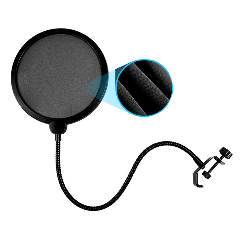 все цены на  Studio Mini Microfone Professional Microphone Mic Wind Screen Pop Filter For Koraoke Video Singing Recording Cover Mask Shield  онлайн